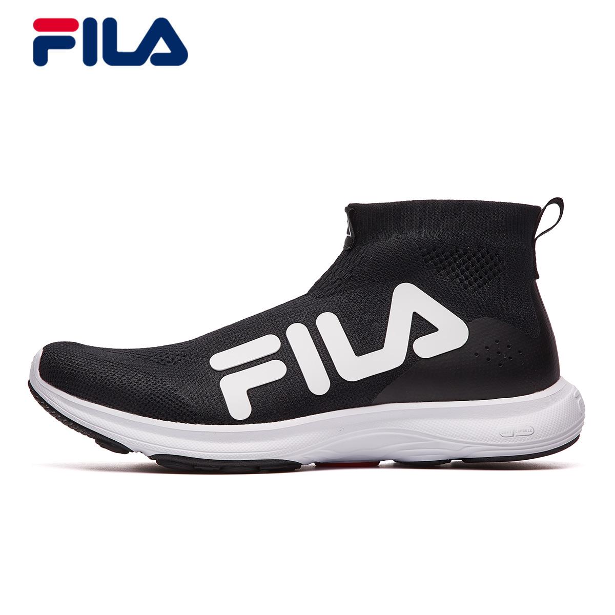 FILA斐乐女跑鞋2018秋季新款轻质舒适缓震耐磨复古跑鞋