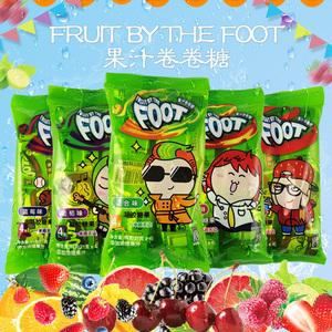 韩国进口零食糖果Fruit By The Foot软糖零食趣味网红水果卷卷糖