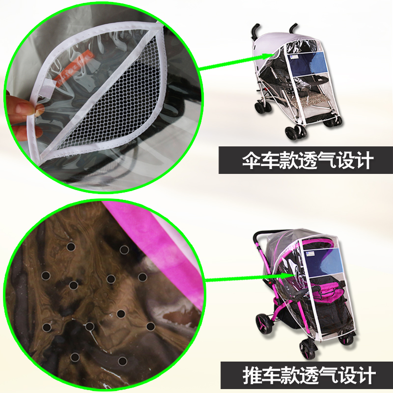 Spare parts for strollers Babystor Stroller rain cover