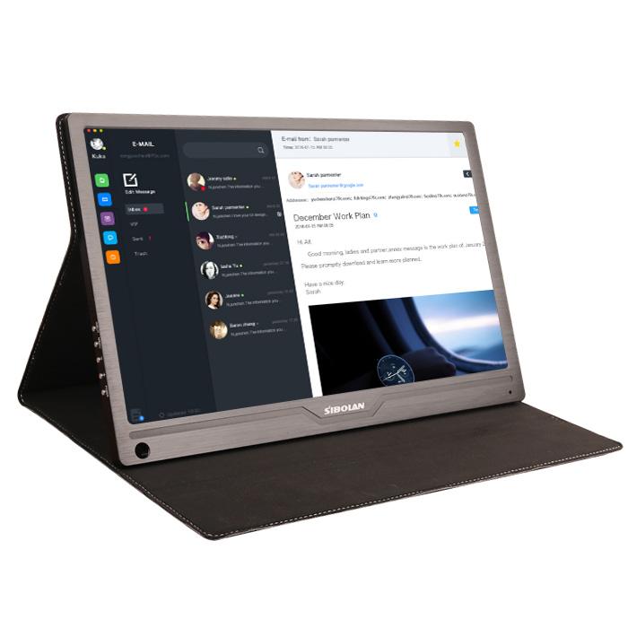 斯波兰15.6英寸USB触摸便携显示器IPS屏1080支持电脑一线通PS4NS