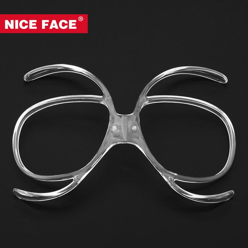 NICE FACE滑雪镜适配器蝴蝶形近视框滑雪眼镜近视框可配近视镜片