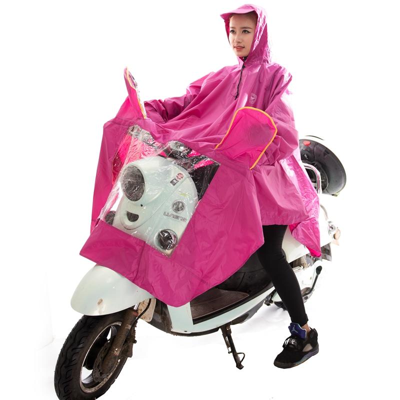 带袖子雨衣电动车有带袖子摩托车雨披男女士騎行電瓶車成人雨衣