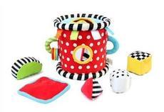 Мягкие кубики для детей Block bucket