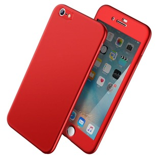 苹果6手机壳iphone6plus磨砂硬壳6s全包手机套苹果7p保护套男女款