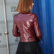 Leather jacket Laura song 1686 2017