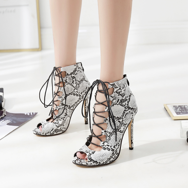 category/Shoes/big size 35-42 Serpentine sexy women's single shoes thin hig...