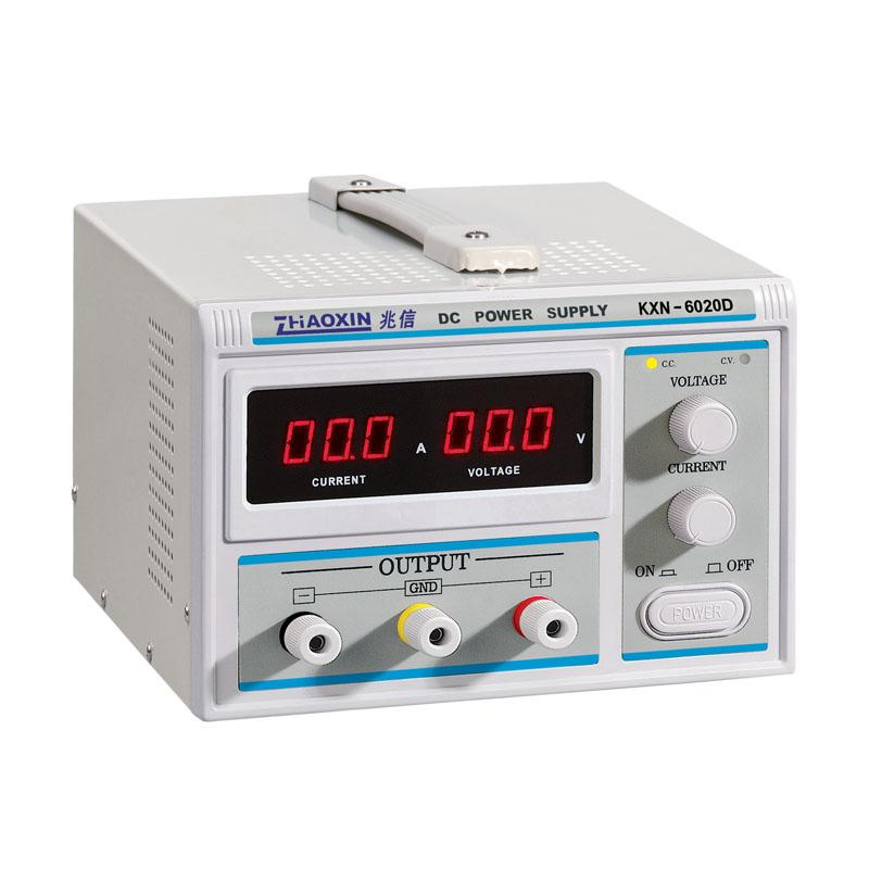 直流稳压电源60v20a 兆信大功率直流开关电源kxn-6020d电镀老化
