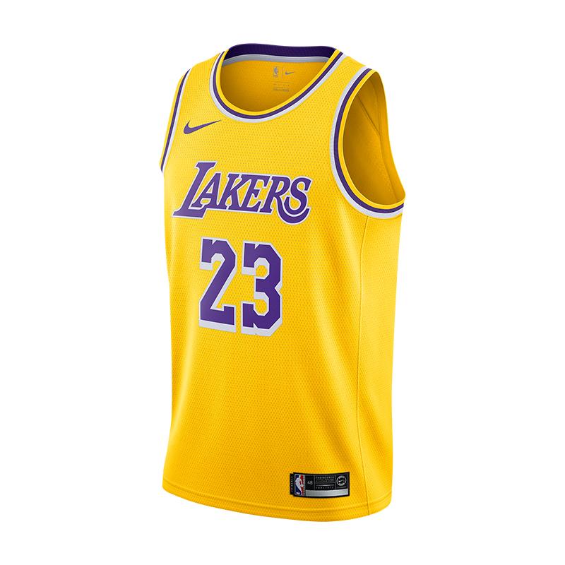 Nike詹姆斯23号湖人球衣