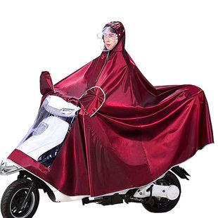 雨衣电动车雨披摩托车SZD雨衣加大加厚单人双人雨披雨衣电瓶车