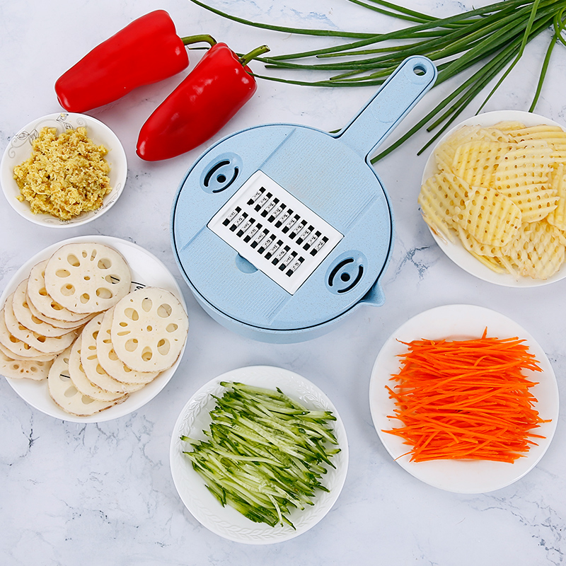 Kitchen Tool Chopping Artifact Potato Wire Cutter Grater Slicer 788325