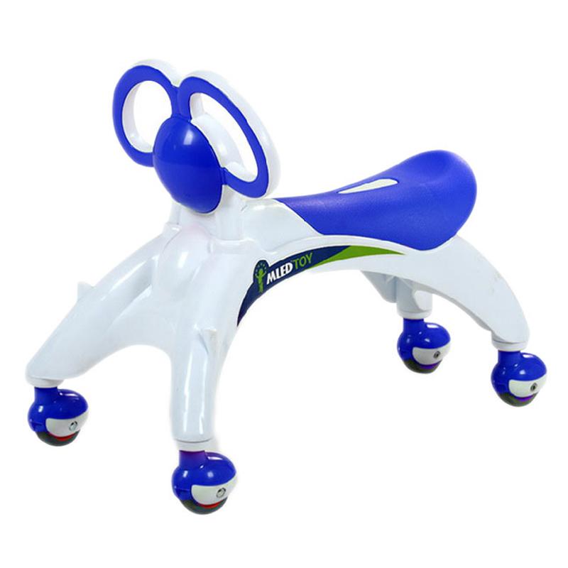MLED米蓝图L1阿拉溜溜车 婴儿童摇摆车 扭扭车滑行车螳螂学步车