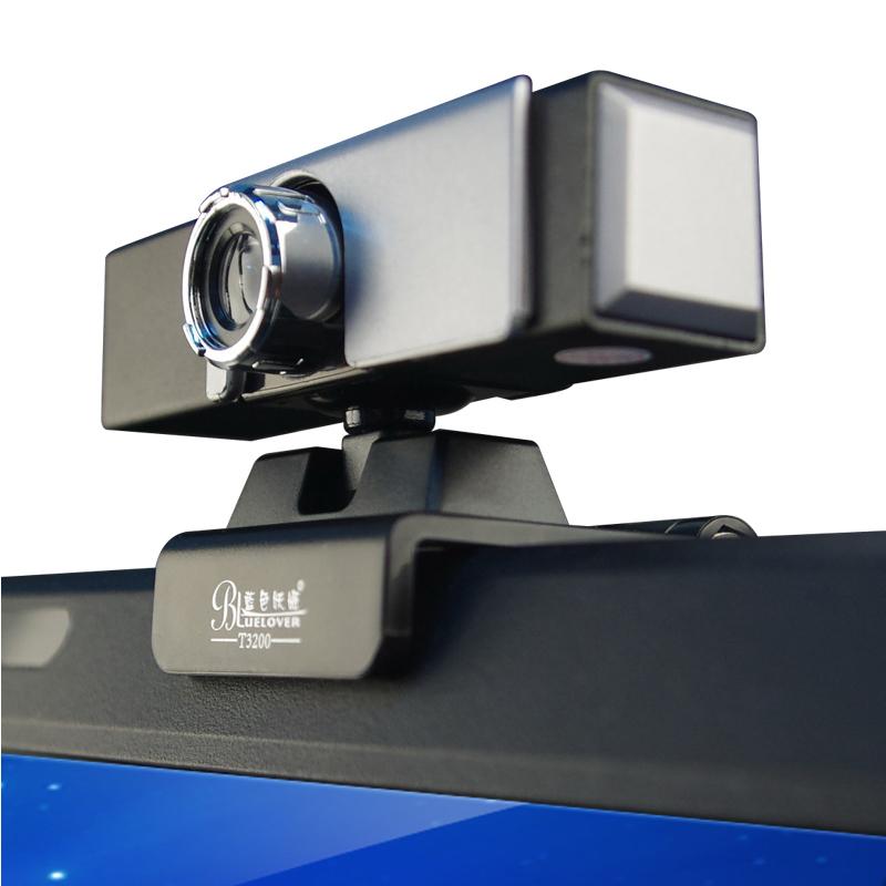 蓝色妖姬sxt 台式智能电视夹电脑 笔记本外置摄像头视频主播直播