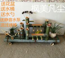 Фонтан декоративный Производство бамбука каменный бак