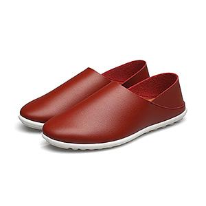潮鞋男士休闲软底豆豆鞋子