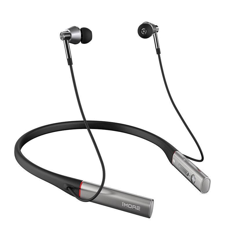 1MORE-万魔 E1001BT三单元圈铁蓝牙耳机LDAC入耳式HiFi音乐颈挂脖式无线商务耳塞式可通话耳麦带线控
