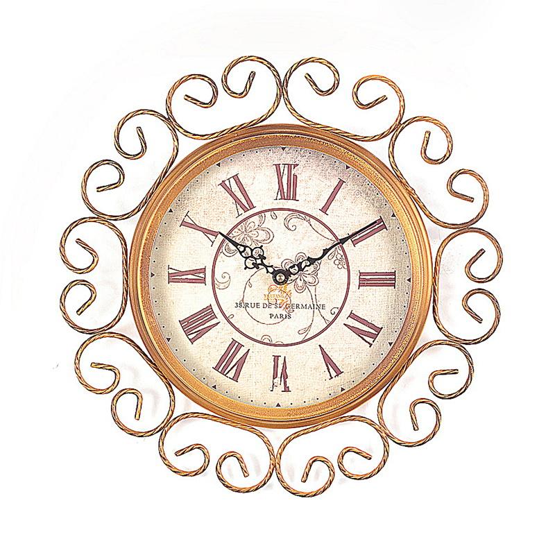 雅居坊大号复古欧式钟表1615