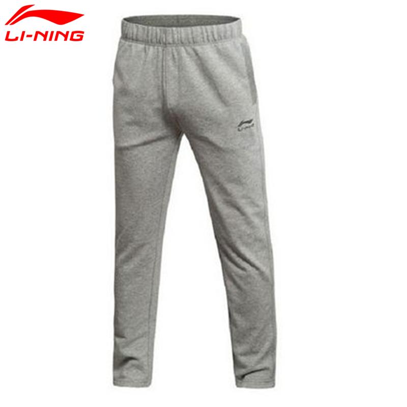 李宁  男款  运动生活系列 男子运动长裤男裤 休闲卫裤 AKLK737 Q