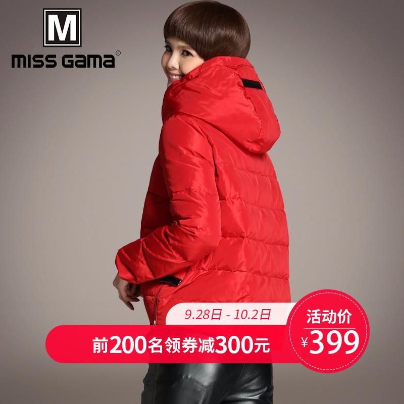 欧货冬款羽绒服女短款韩版2018新款时尚小款冬装红色外套品牌加厚
