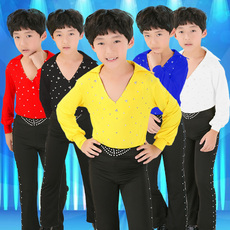 костюм Children Latin dance clothes