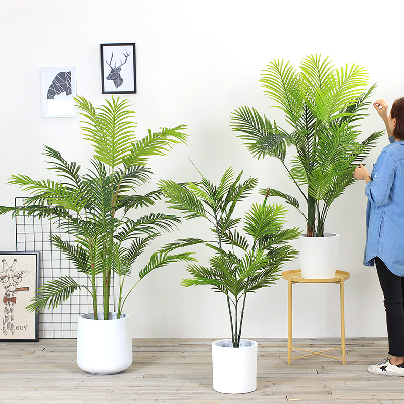 北欧ins时尚白色水泥装饰花盆龟背叶旅人蕉盆栽花篮客厅创意摆件