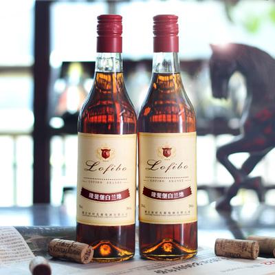 白兰地国产洋酒500ml*2瓶