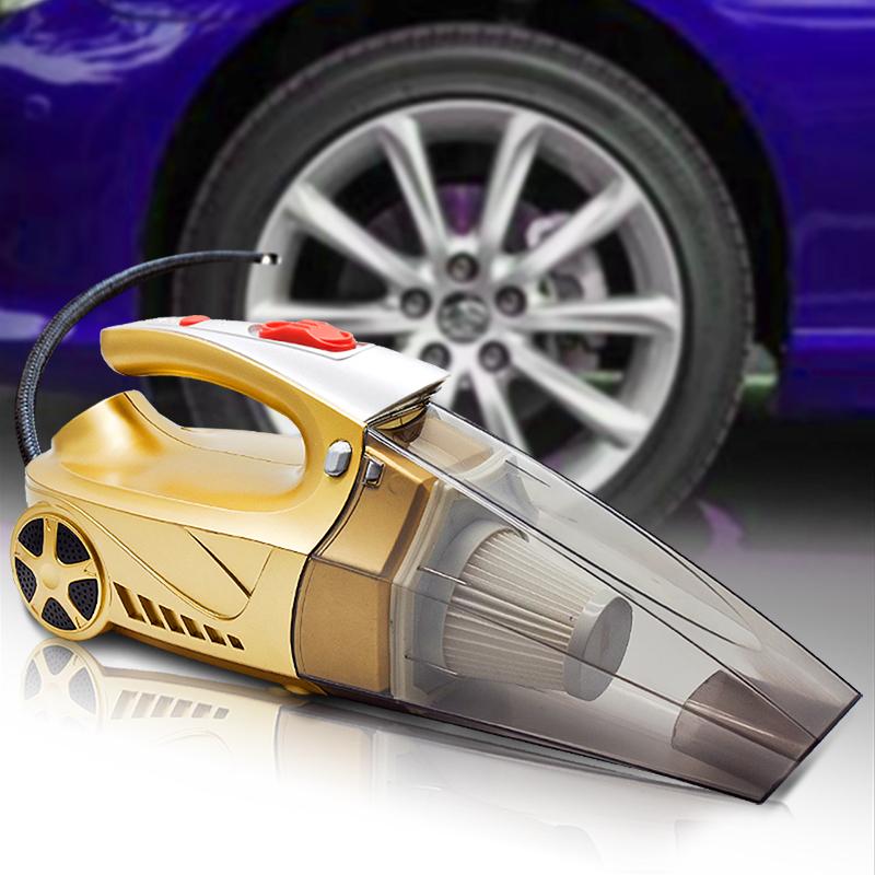车载充气泵四合一吸尘器多功能汽车打气泵筒车内车用家用车家两用