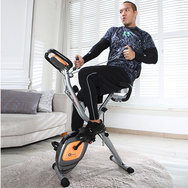 雷克XBIKE多功能动感单车家用超静音磁控健身车折叠室内健身器材