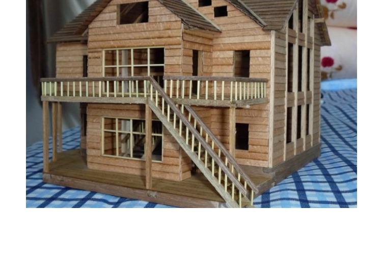 圆木棒木棍diy手工房子模型制作材料木条棒雪糕棒冰棍