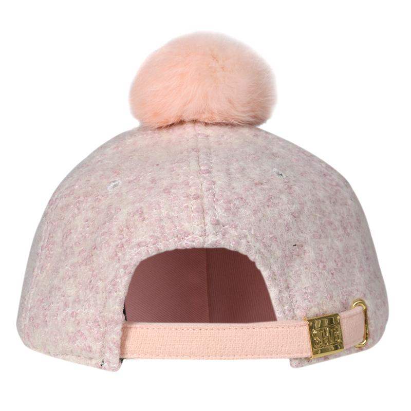 HATSON男帽女帽冬季新款休闲帽棒球帽透气帽子SMBSNH5422PK