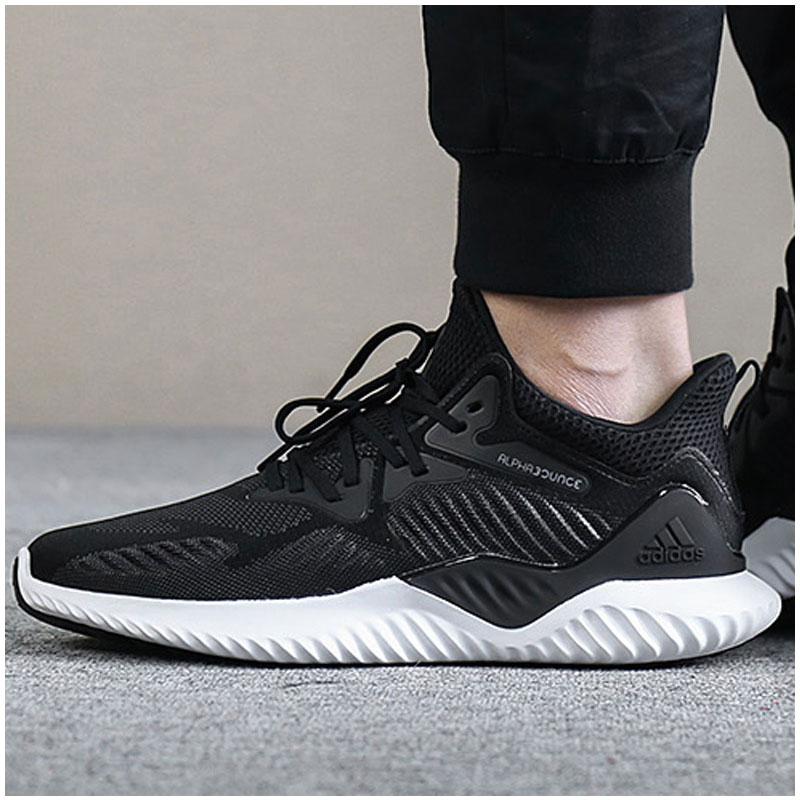 阿迪达斯男鞋2018秋季新款男士运动鞋bounce跑鞋轻便跑步鞋AC8273