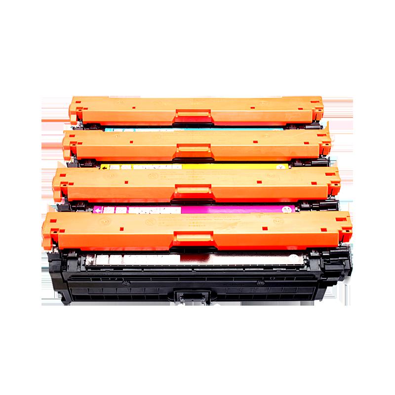 标点适用惠普CP5525硒鼓HP CP5525dn m650A M750打印机墨盒HP Color LaserJet Enterprise CE270A黑色HP650A