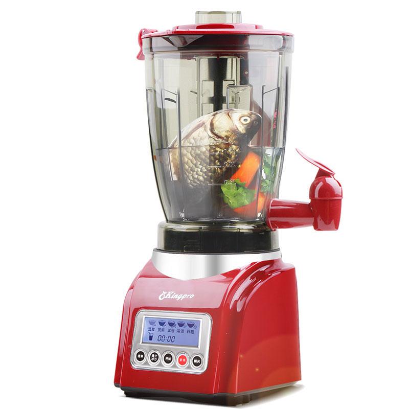 台湾凤梨牌Kingpro J-1202料理机加热家用全自动多功能搅拌机
