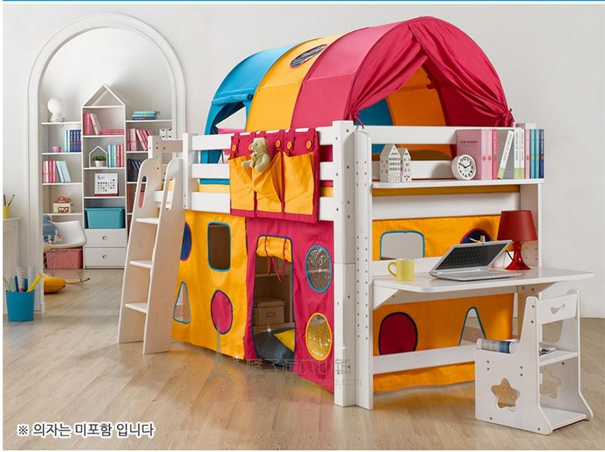 Upgraded version of the childrenu0027s bed tent / game tent / color tent / height bed : ikea bed tent - memphite.com