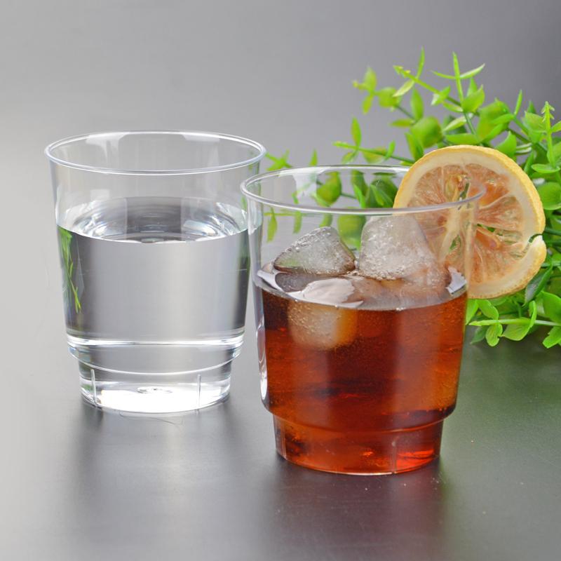 杯口及杯体增厚设计,强度硬,不易变形,ps材质,飞机上的杯子,可印制