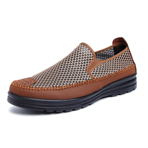 中老年老人凉鞋男防滑软底爷爷鞋夏季中年男士爸爸休闲老北京布鞋