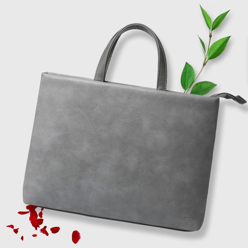微软平板surface pro4-5电脑包女手提15.6寸laptop保护套surface book内胆包13.5英寸皮套可爱简约单肩包男