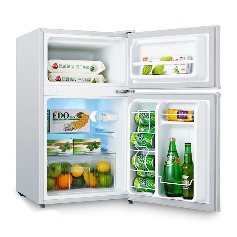 midea/美的冷冻藏双门小冰箱bcd88cm