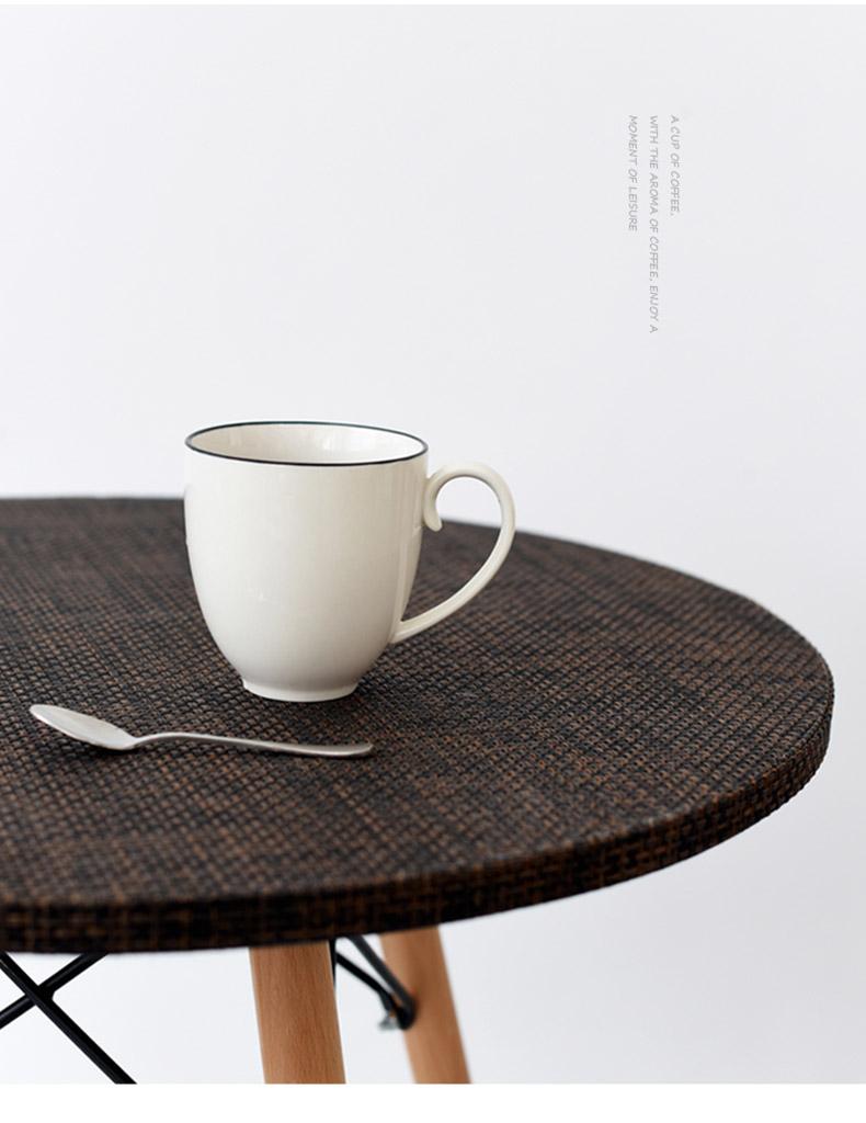 情侣 杯子/无名印象大容量个性水杯陶瓷杯子创意马克杯经典牛奶杯情侣杯子