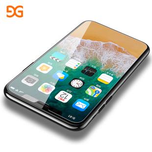 iPhoneX钢化膜苹果X手机iPhone X全屏全覆盖3D蓝光10水凝后贴膜十