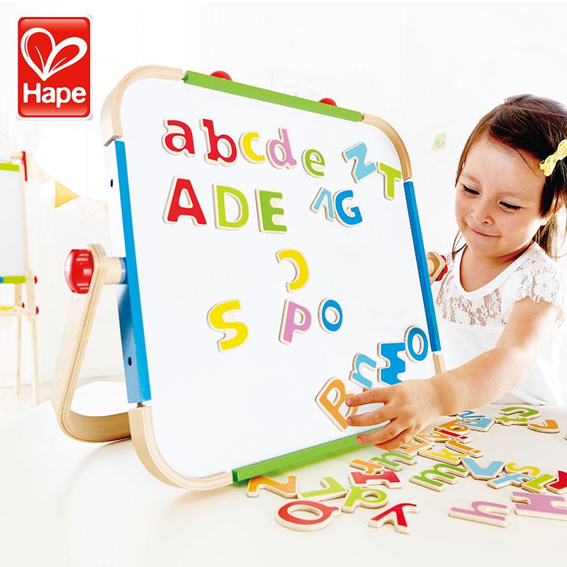 德国Hape 字母磁铁 冰箱贴磁性贴 英文字母教具儿童宝宝早教玩具