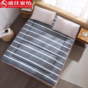 榻榻米床垫租房专用可折叠冬夏两用简易床垫打地铺折叠卡通懒人床