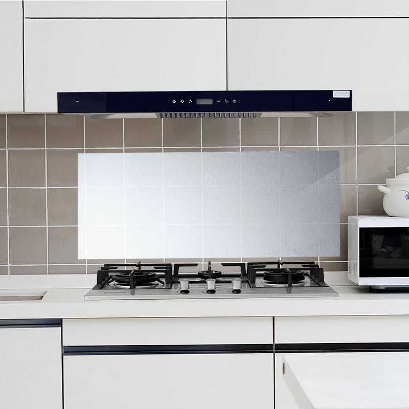 厨房防油贴纸家用灶台油烟机耐高温贴纸铝箔隔热隔油防水贴瓷砖贴