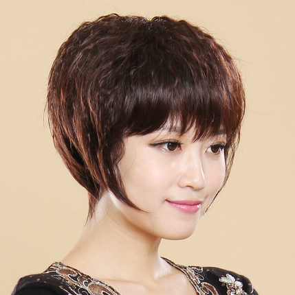 假发女短发短假发女士假发短发BOBO头假发短发女短发短卷发