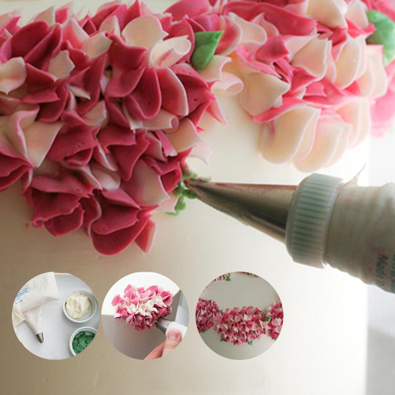 Сделать цветок из крема