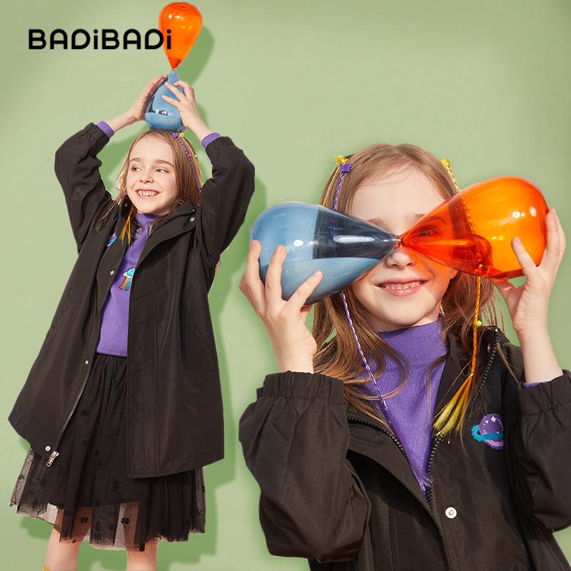 巴拉巴拉旗下 巴帝巴帝 2020年春季新款 女童风衣外套 天猫优惠券折后¥99.9包邮(¥209.9-110)110~160码3色可选