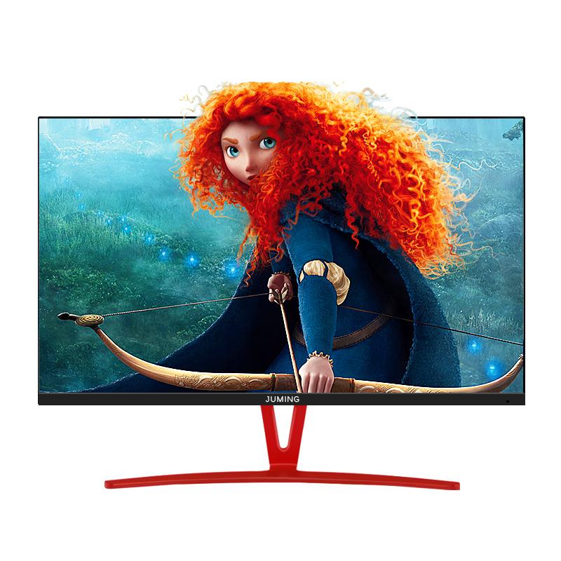 钜铭 24.5英寸无边框液晶显示器网吧电竞高清屏幕144HZ 吃鸡游戏