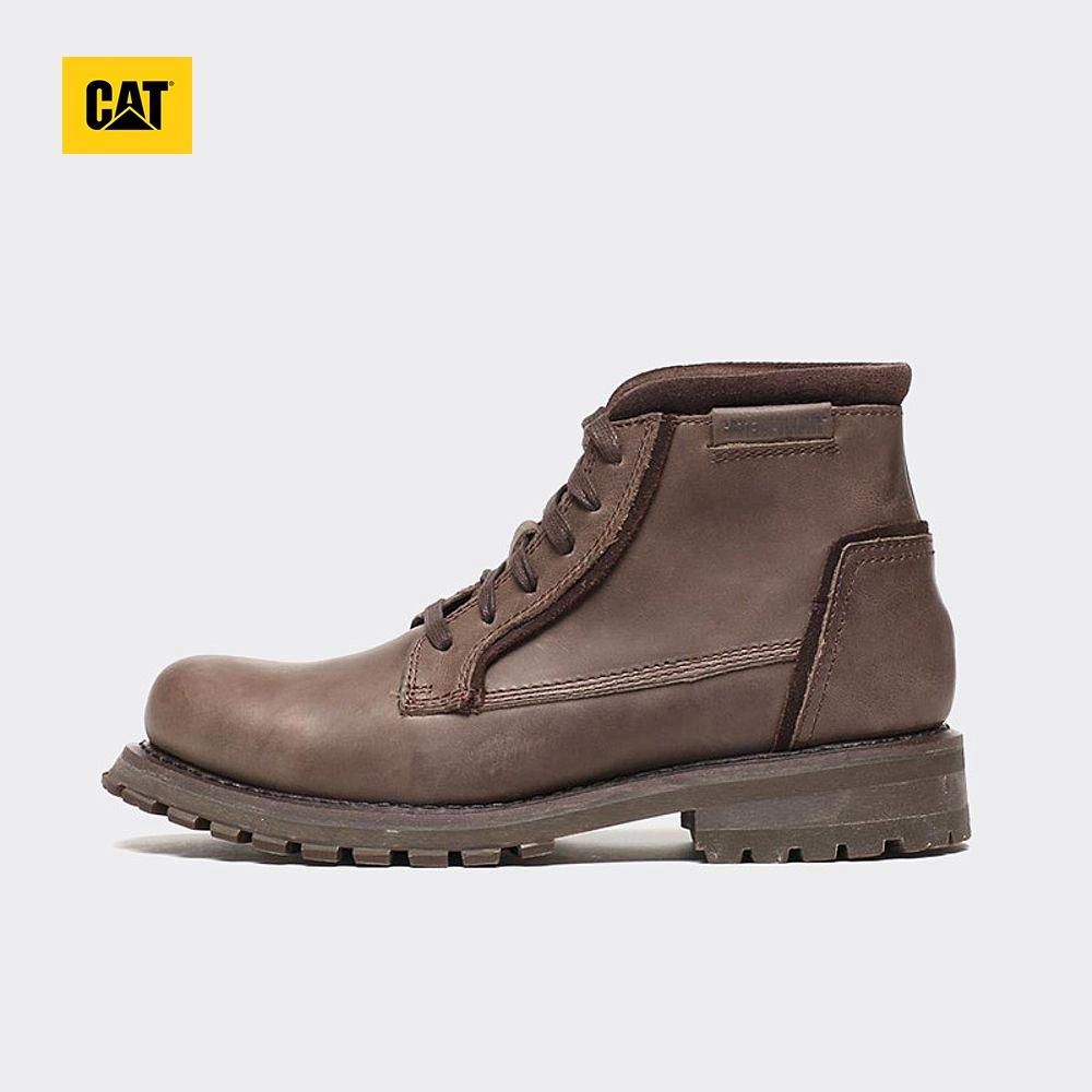 CAT卡特正品秋冬男鞋高帮牛皮革户外休闲鞋工装靴P720675