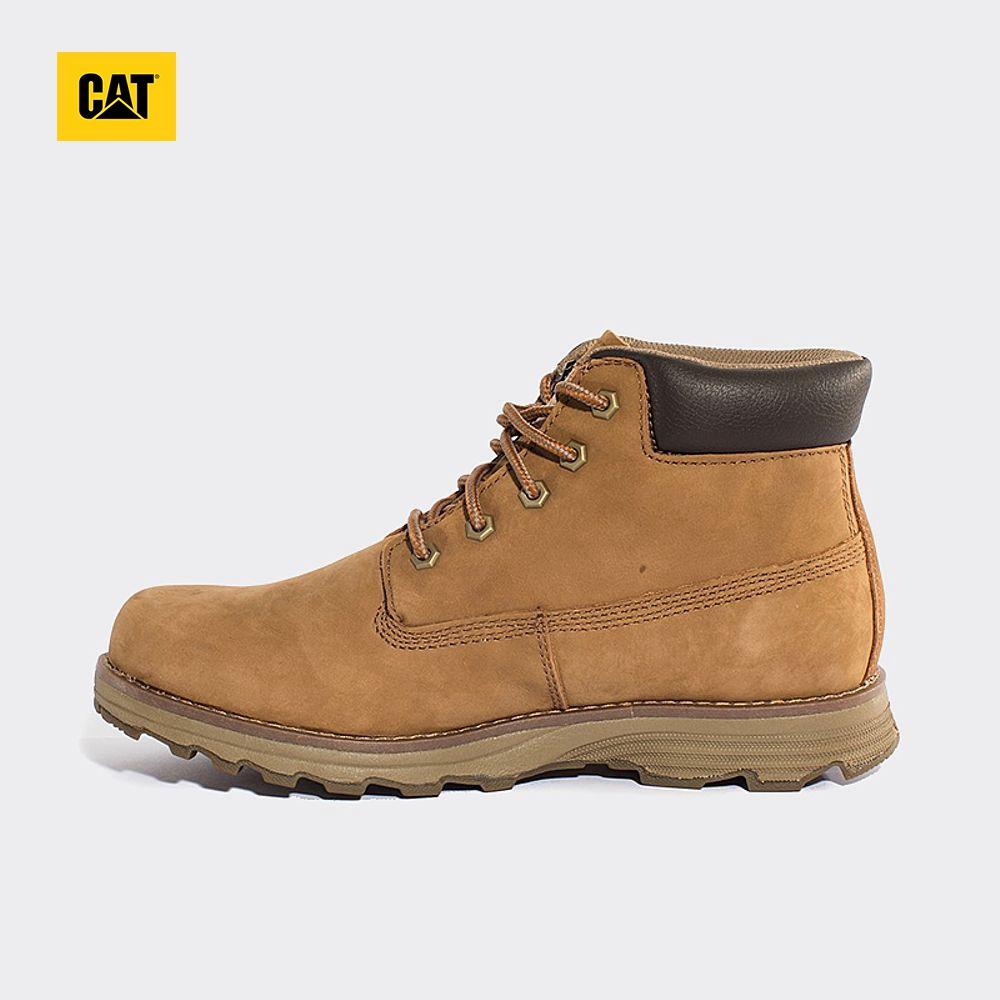 CAT卡特牛皮男鞋EASE缓震科技户外休闲靴P717819G3MDR45
