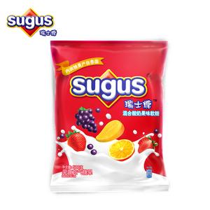 瑞士糖sugus混合酸奶水果味软糖500g婚庆结婚喜糖批发散装糖果