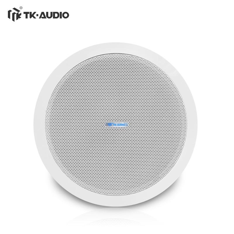 TK-AUDIO-腾高 TKC-705-5定压吸顶喇叭家用天花音箱吊顶音响